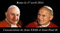 Double canonisation